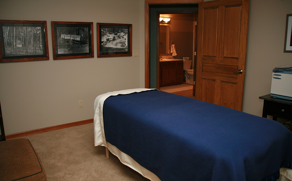 Brian Boetel Massage Therapy Room